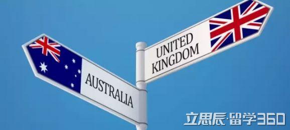 澳洲留学,澳洲留学PK英国留学