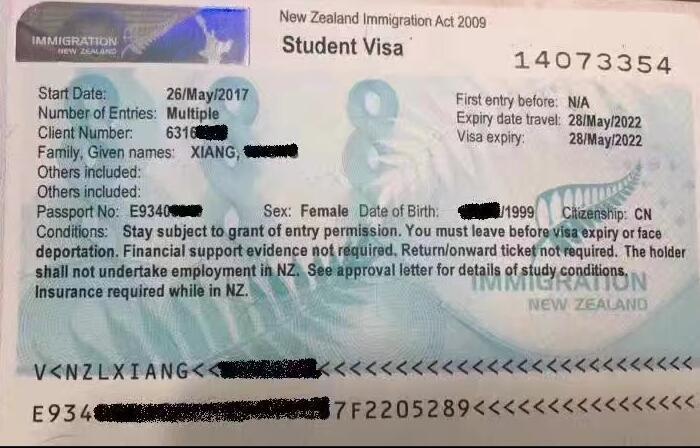 恭喜X同学申请qile518语言+预科+本科的Pathway offer和Visa顺利过签!