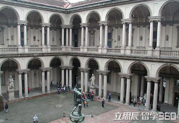 意大利米兰新美术学院留学各项费用信息