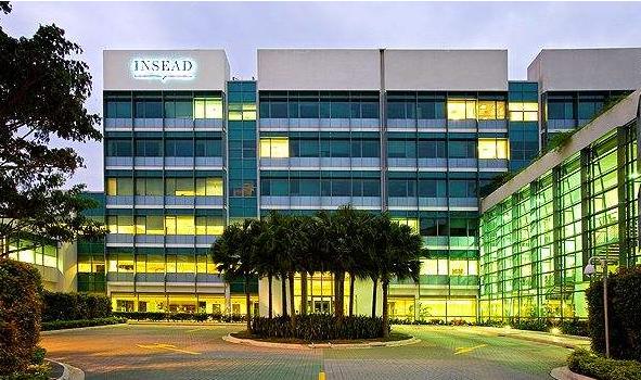 INSEAD欧洲商务管理学院排名