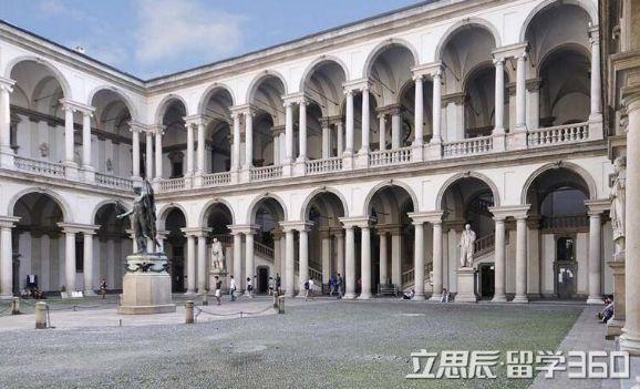 意大利米兰国立美术学院地理位置好不好