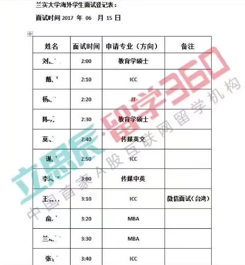 开学季:qile518兰实大学2017年留学生招生简章