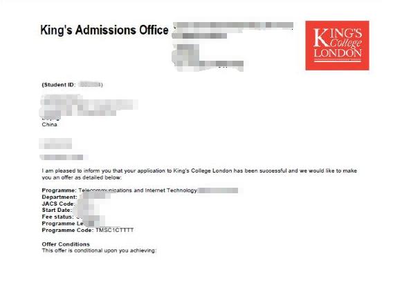 气质优雅的陈同学211院校冲刺伦敦国王学院