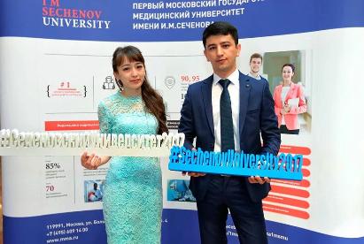 莫斯科谢东诺夫国立第一医科大学:又一批留学生毕业拉~