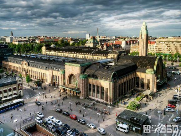 芬兰的首都城市赫尔辛基