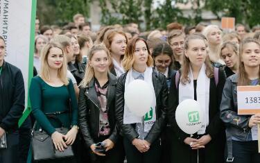 圣彼得堡国立技术大学的开学知识日―世界理工大学中的佼佼者