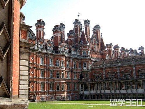 伦敦大学皇家霍洛威学院雅思要求