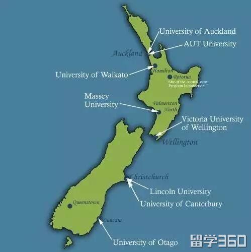 分分钟秒到你,最全的新西兰留学档案就在这里!