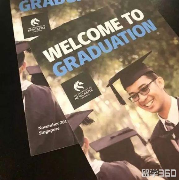 祝贺你,PSB学院纽卡斯尔大学的毕业生。