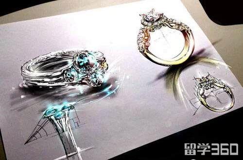 美国留学珠宝设计专业