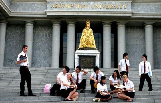 【泰国留学录取榜-硕士】成绩优异目标明确,未来就在工商管理专业。