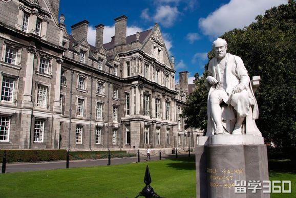 爱尔兰都柏林圣三一大学――英国和爱尔兰中最古老的七所大学之一