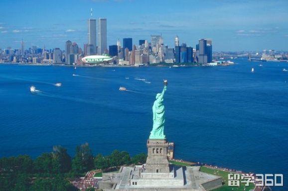美国留学热门的五个州