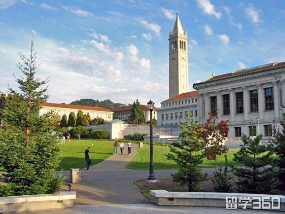 美国加州大学伯克利分校排名