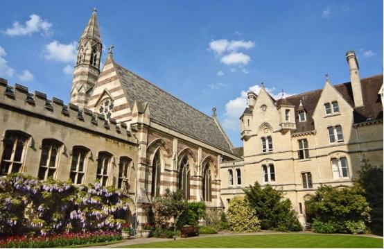 牛津大学最好的学院