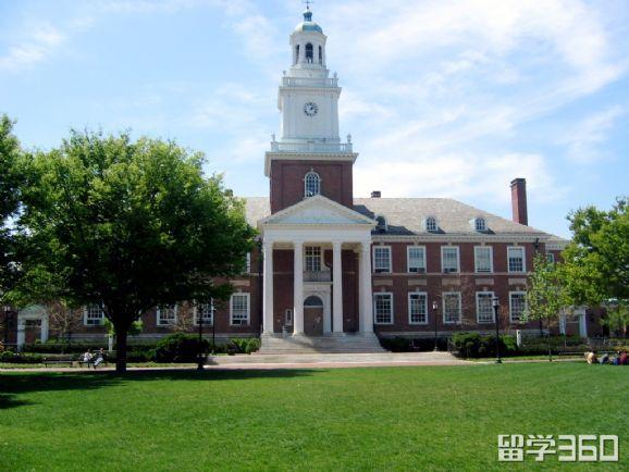 霍普金斯大学排名