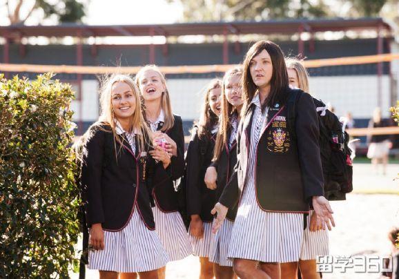 高中生澳洲留学高中广渠门条件图片