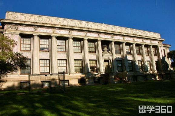 伯克利大学世界排名