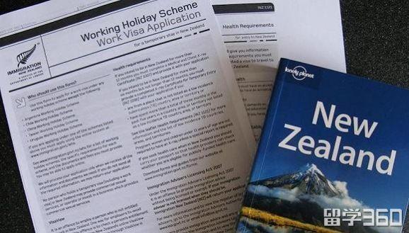 新西兰打工度假签证