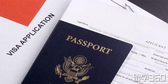 加拿大留学签证小签