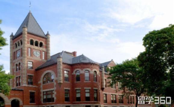 新罕布什尔大学排名