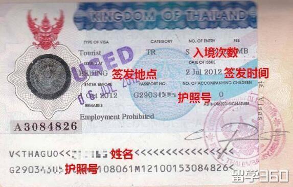 泰国留学签证程序是什么