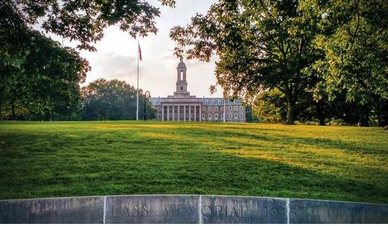 美国宾州州立大学院系设置