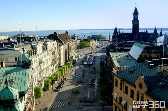 在瑞典留学的生活