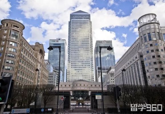 UCL商学院新校区Canary Wharf,每天和全球顶级投行Banker做邻居!