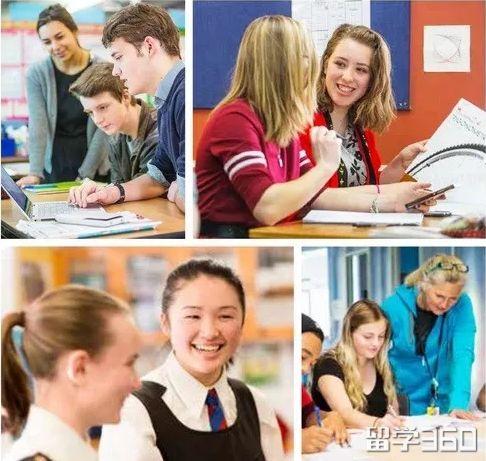 新西兰中学体系