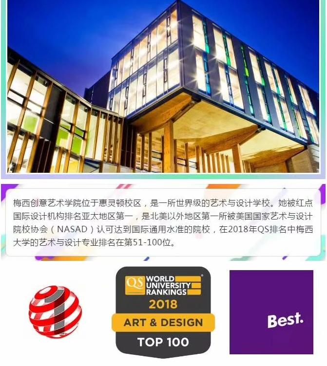 世界五百强大学-梅西大学商科和艺术设计项目奖学金来袭!