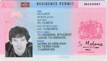 """英国留学生离了BRP卡寸步难行!它就是你留英期间""""身份证""""!"""