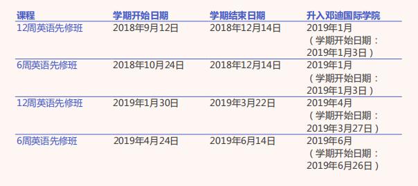 邓迪大学2018/19年度国际联合硕士课程