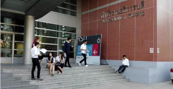 【泰国留学录取榜-硕士】英语成绩不好也要看世界,首选兰实大学工商管理硕士专业!