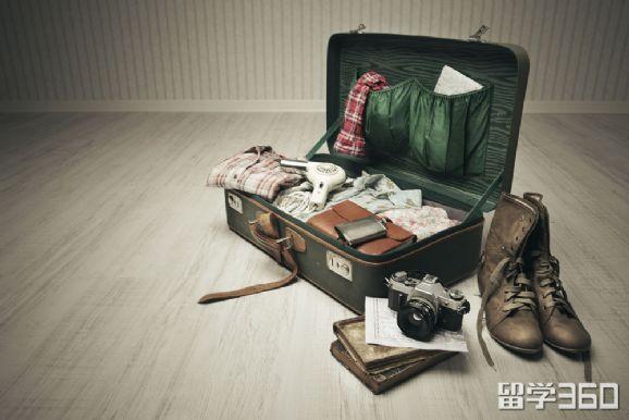 美国留学,美国留学行李准备,行前准备