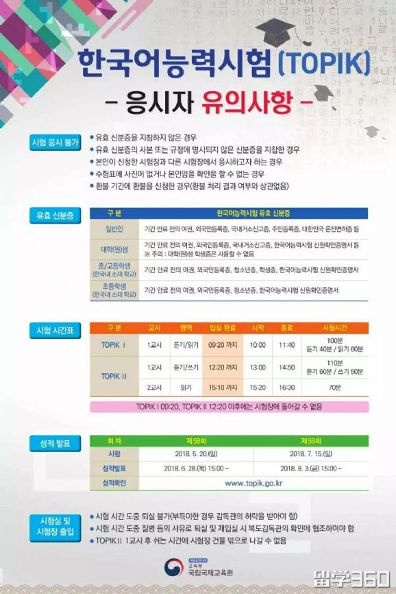 10月份韩国语能力考试你准备好了吗?考生注意事项及通关技巧奉上