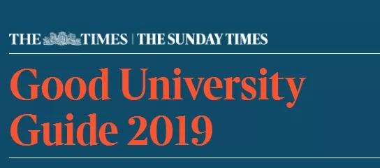 2019年TIMES英国大学排名,剑桥成功卫冕!