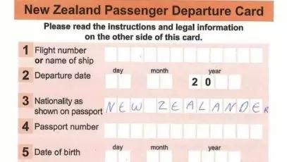新西兰入境