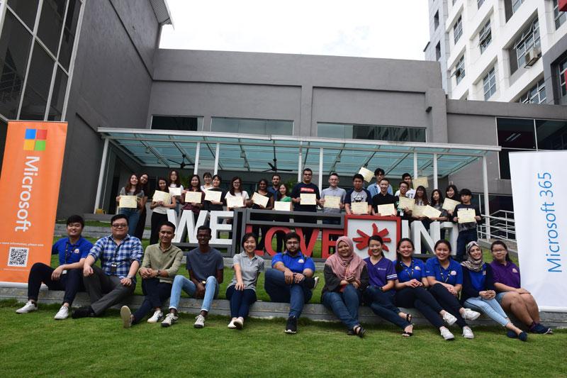 英迪大学学生参加微软训练,锻炼市场营销和商业技能
