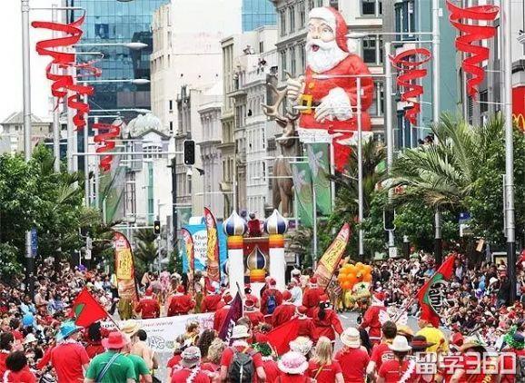 新西兰圣诞节