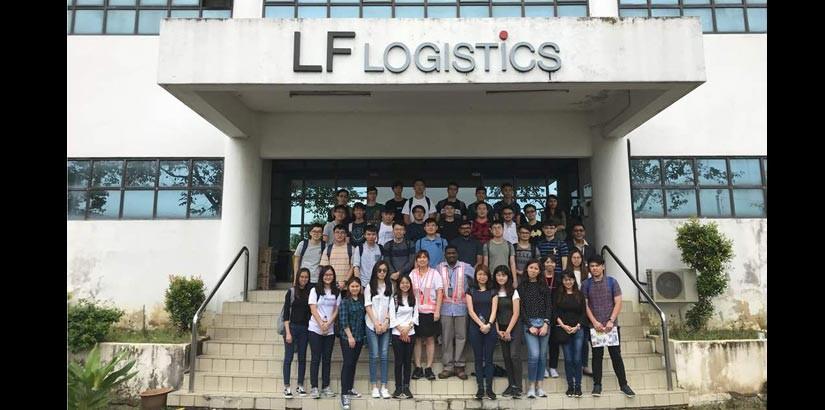思特雅大学物流学生参观LF物流,实践与理论结合提升自己