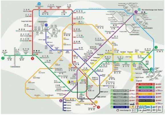 新加坡有哪些交通出行方式