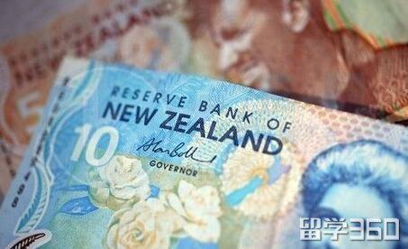 新西兰出国留学带现金