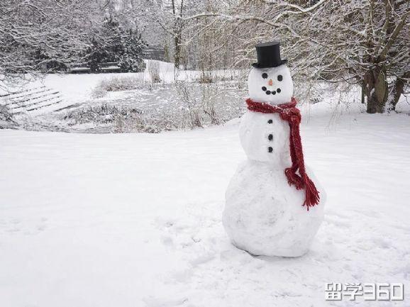 加拿大过冬