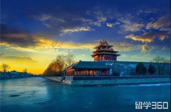 紫禁城手绘唯美