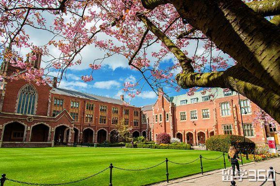 英国贝尔法斯特女王大学,接受高考成绩申请!