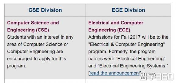 美国留学申请,美国留学EE与CS专业,美国大学推荐