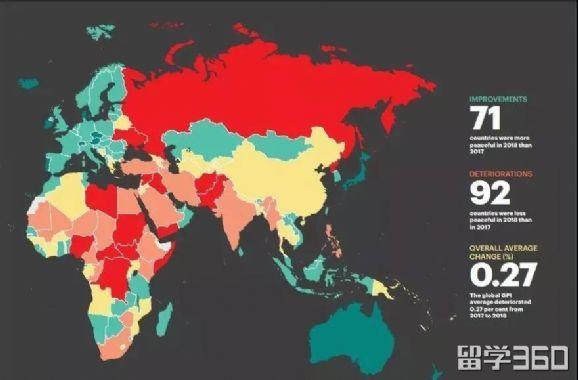 全世界最安全国家排行:中国第一!加拿大紧随其后