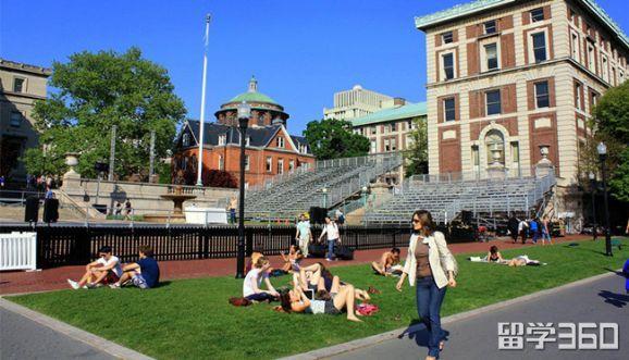 想快乐留学?快来看美国最美校园生活大学排名