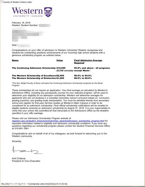 L同学雅思6.5学习能力较强专攻特长成功申请韦氏敦大学